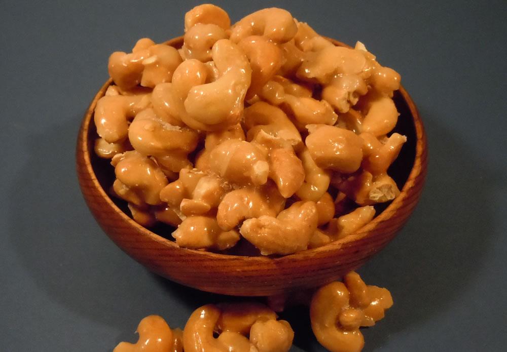 Glazed Cashews