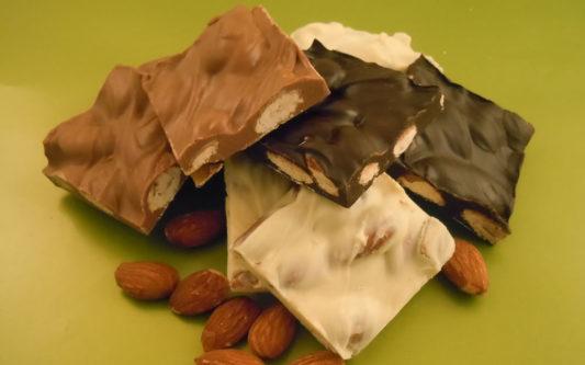 Chocolate Almond Bark