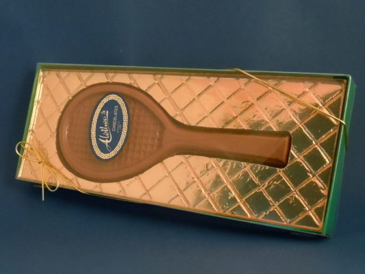 Chocolate Tennis Racket in gift box
