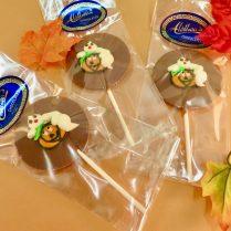 Halloween chocolate Pops