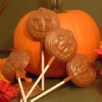 Seasonal Picture of Gourmet Chocolate Pumpkin Pops