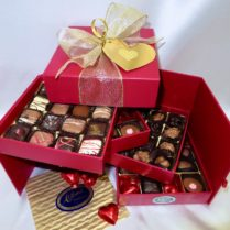 extraordinary 4 tiered Valentine Chocolates Gift Box