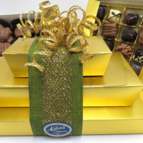 Golden Gift Tower of gourmet Chocolates