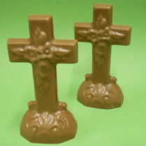 Standing Chocolate Crosses