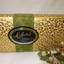 Beautifully wrapped Spnge Candy gift