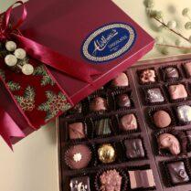 Exquisite Holiday box of gourmet chocolates