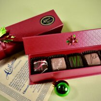 Holiday Box with gourmet truffles