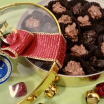 Holiday gift box of gourmet Chocolate Clusters