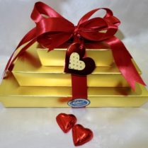 Beautiful Valentine Gift Tower of Chocolate confections