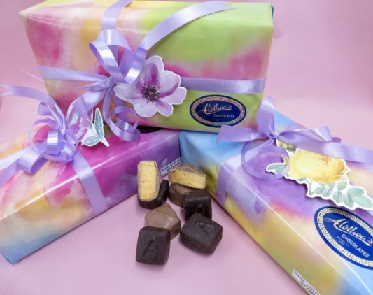 Springtime box of gourmet Sponge Candy