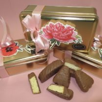 Beautiful Spring Box of gourmet butter cookies