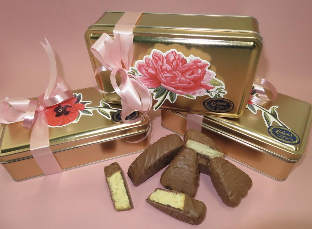 Beautiful Spring Box of gourmet butter cookies