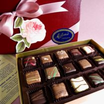Lovely Spring Box of gourmet Truffles