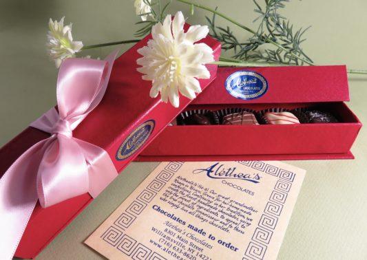 Beautiful Spring Box of Gourmet Chocolates