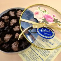 Beautiful Spring box of gourmet chocolate clusters