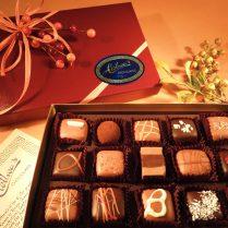 Beautiful Fall gift box of artisan Truffles