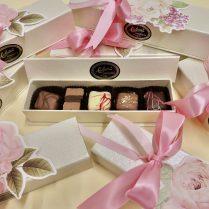 Elegant gift box of artisan Truffles.