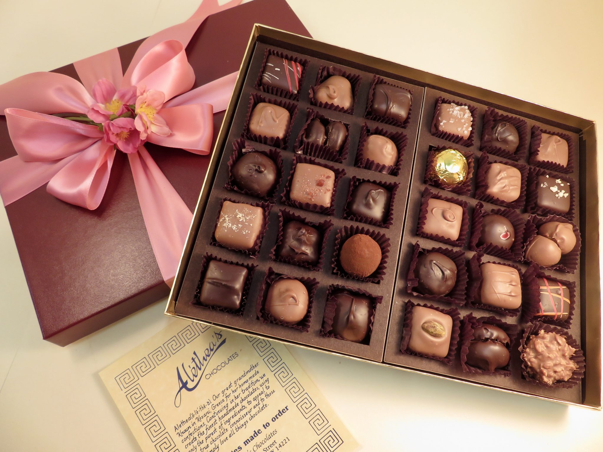 Mother's Day box of gourmet chocolates