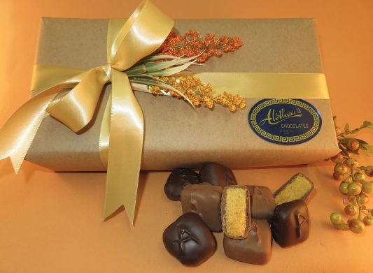 Fall decorated Sponge Candy Gift